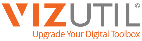 VIZUTIL | Upgrade Your Digital Toolbox Logo