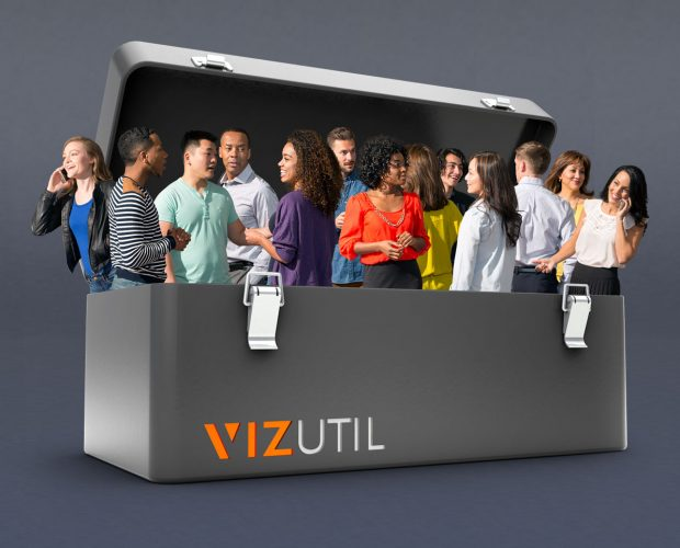 VIZUTIL: Upgrade Your Digital Toolbox with high-quality, culturally diverse 2D cut-outs